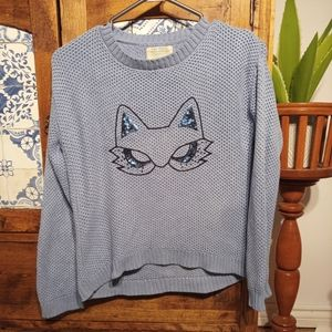 Zara Kids cat sweater 9-10 yrs